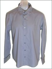 BNWT FULL CIRCLE LONG SLEEVED TALBOT SHIRT MEDIUM SILVER GREY
