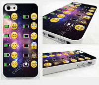funny smiley emoticon case,cover for iPhone,iPod>space,alien,poop,Emoji,battery