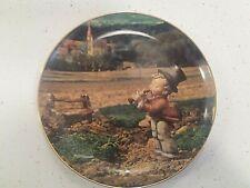 Danbury Mint Song Of Thanksgiving Hummel November Calendar Plate Collection