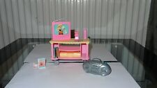 Barbie furniture tv audio unit circa 2000 good vintage