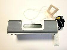 iHome iH5 Alarm Clock Radio Apple iPod Home System W/ Remote & Power Supply (I0