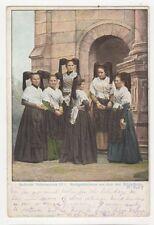 Badische Volkstrachten Markgraeflerinnen Schopfheim 1907 Postcard Germany 395a