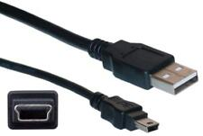 USB 2.0 A Male to Mini 5 Pin B Data Charging Cable Cord for GPS Camera MP3 MP4