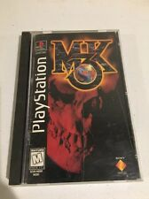 Mortal Kombat 3 - Playstation 1 Game PS1 1995 - Long Box - Tested, works!