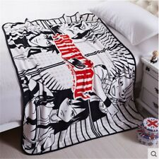 """Anime FAIRY TAIL Throw 39x55"""" Etherious Dragneel Home Decor Soft Coral Blanket"""