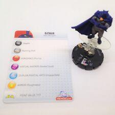 Heroclix DC Rebirth set Batman #031 Uncommon figure w//card!