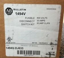 ALLEN BRADLEY 1494V-DJ633 FUSIBLE DISCONNECT SWITCH KIT NEW IN BOX