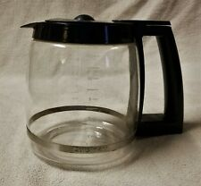 CUISINART Replacement 12 Cup Glass Coffee Maker CARAFE POT DECANTER Black