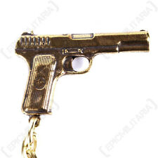 Russian TT-33 Pistol Keyring - Key Chain FOB Army Military Soldier Gift Mens New