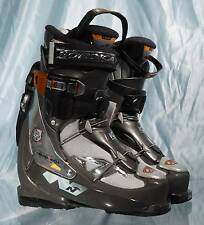 New NORDICA SMARTECH 10W All Mountain Grey Women's Ski Boots MP 23.5 US Wom 6.5