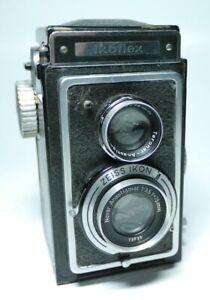 Zeiss Ikon Ikoflex mit Novar Anastigmat 3,5 75mm   ff-shop24