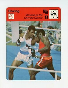 #TN09867 WINNERS AT THE OLYMPIC GAMES 1970'S Sportscaster Boxing Card