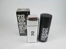 Carolina Herrera 212 VIP 3.4oz 100ml Men's EDT Perfume  & Deodorant Spray 150ml