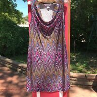 PRICE DROP! Allison Taylor Sleeveless Slip Dress Size Small Excellent Condition