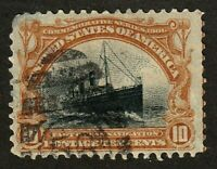 United States stamp #299, used, Pan American Expo, 1901, A114, SC $33