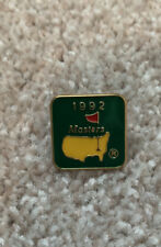 1992 Masters Tournamnet Pin