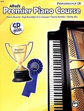 ALFRED'S PREMIER PIANO COURSE 1B PERFORMANCE MUSIC BOOK W/CD BRAND NEW ON SALE!!
