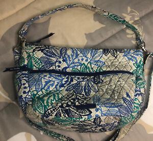 Vera Bradley Purse  Zip Medium Tote Bag Shoulder Or Crossbody