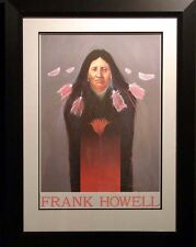 Frank Howell Encirclement of Sisters Hand Signed Framed Art Print, Submit Offer