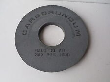 "Carborundum GA80 K6 V10 Grinding Wheel 14 1/8"" x 1"" x 5"" Center Hole"