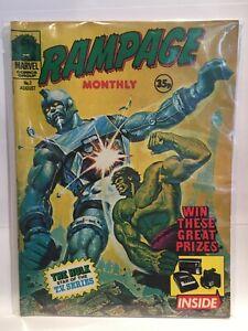 Rampage Monthly #2 Marvel UK Magazine