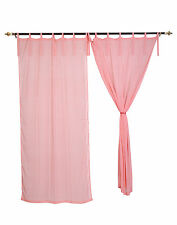 Handmade Striped Window Curtains