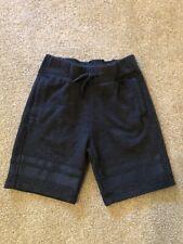 Used Boys Abercrombie Kids Sweat Shorts Navy Blue Size 5/6