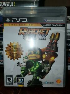 Ratchet N Clank Collection Sony PlayStation 3 Ps3 Case Game Manual