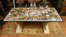 5'x3' Marble Dining Living Table Top Multi Inlay Decorative Patio Furniture H615