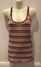 D&G Dolce & Gabbana Top Knitted Red White Stripes Size EU 40 Cocktail Party
