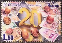 Bosnien Herzegowina 2018 Nr. 736 Münzen und Scheine Konvertible Mark