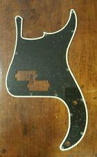 Fender P Bass Pickgaurd... Black Flake/Glow Outline... JAT Custom Guitar Parts
