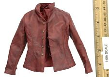 Pop Toys Henry V (Throne Version) Red Leather Jacket 1:6th Scale Accessory