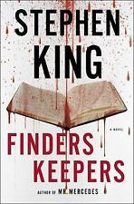Finders Keepers by Stephen King...NEW Hardcover (Large Print Edition)