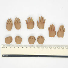 XB124-06 1/6 Scale HOT Kung Fu Ip Man Hands 5 Pairs TOYS