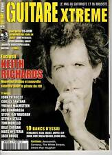 "GUITARE XTREME #9 ""K.Richards,B.Corgan,Petrucci,Malmsteen,Bonamassa,Eths""(REVUE)"