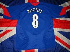 Manchester United Away Football Shirt Jersey Nike 2005- 2006 Size Xl Rooney