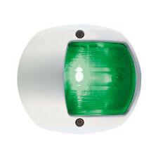 PERKO LED SIDE LIGHT 12V GREEN W/ WHITE PLASTIC