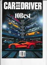 Car & Driver Magazine (January 2021) THE 10 BEST CARS FOR 2021 - Free Shipping!