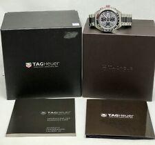Tag Heuer Formula 1 Calibre 16 Chronograph Mens Watch w/ Box & Papers CAZ2012-0