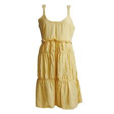 Noa Noa Damen Kleid Dress A-Linien-Kleid Gr.M (DE 38) Casual Freizeit Gelb 93759