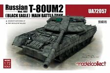Modelcollect UA72057 1/72 Russian T-80UM2 (Black Eagle) MBT Mod. 1997