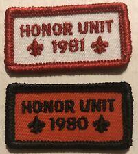 VINTAGE 1980 HONOR UNIT SCOUT PATCH