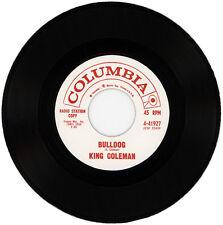 "KING COLEMAN  ""BULLDOG c/w BLACK BOTTOM BLUES"""
