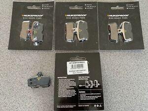 Avid SRAM Code Nukeproof Brake Pads x4 Pairs (Semi Metallic)