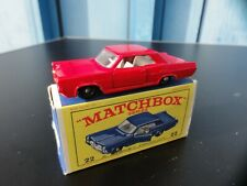 MATCHBOX LESNEY PONTIAC G P COUPE Nr 22  TOP