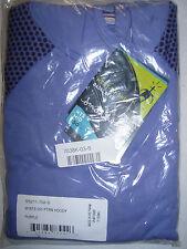 NEW SmartWool NTS Midweight Pattern Hoodie Shirt - UPF 50+, Women's Small Wool
