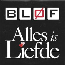 Blof ‎– Alles Is Liefde      cd single in cardboard