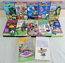 Nice Used 12 Pc. BIG IDEA VeggieTales VHS Video Mixed Lot CHILDRENS/Christian