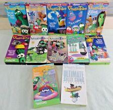 Nice Used 12 Pc. BIG IDEA VeggieTales VHS Video Mixed Lot CHILDRENS/Christian